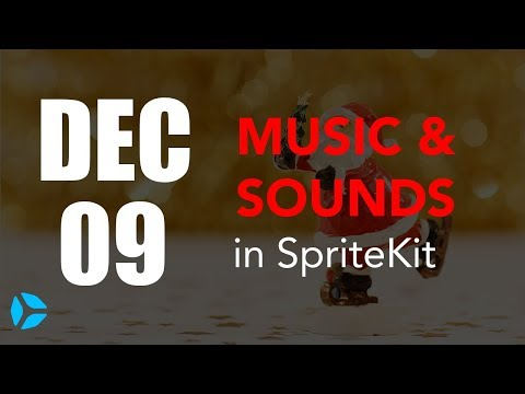 How to add Background Music and Sounds in SpriteKit and Swift 4