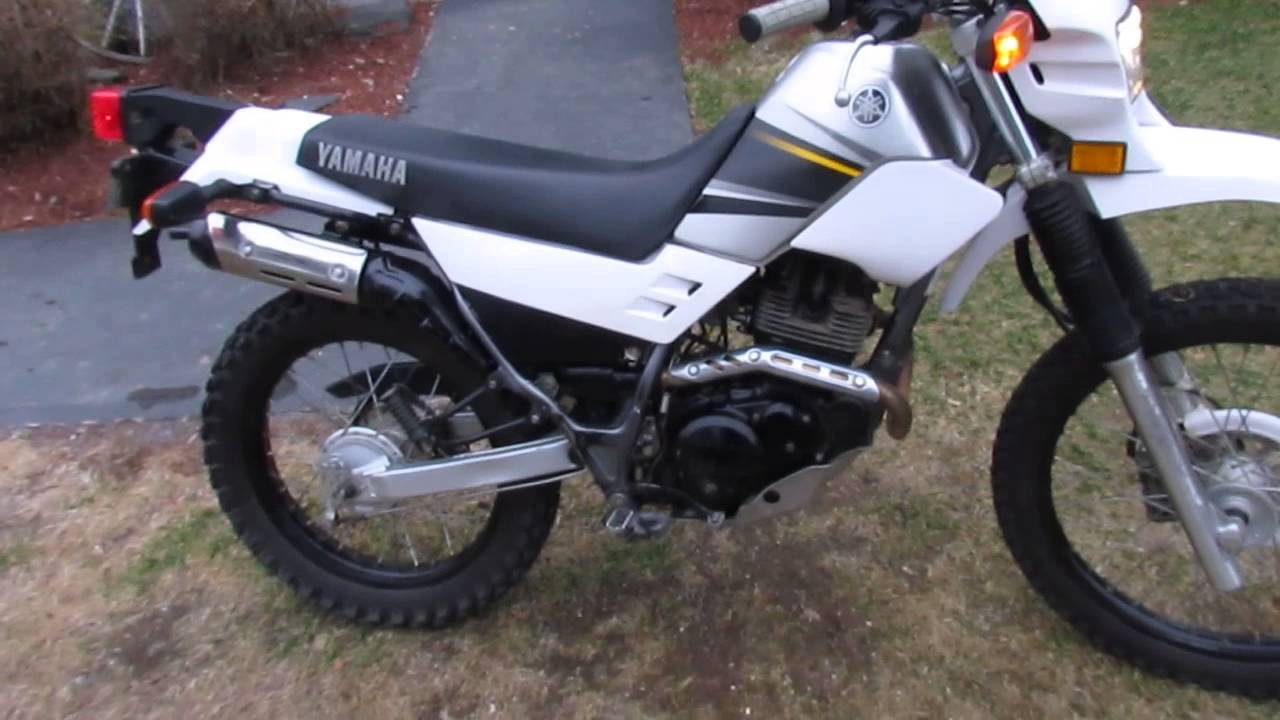 2003 Yamaha xt225 - YouTube