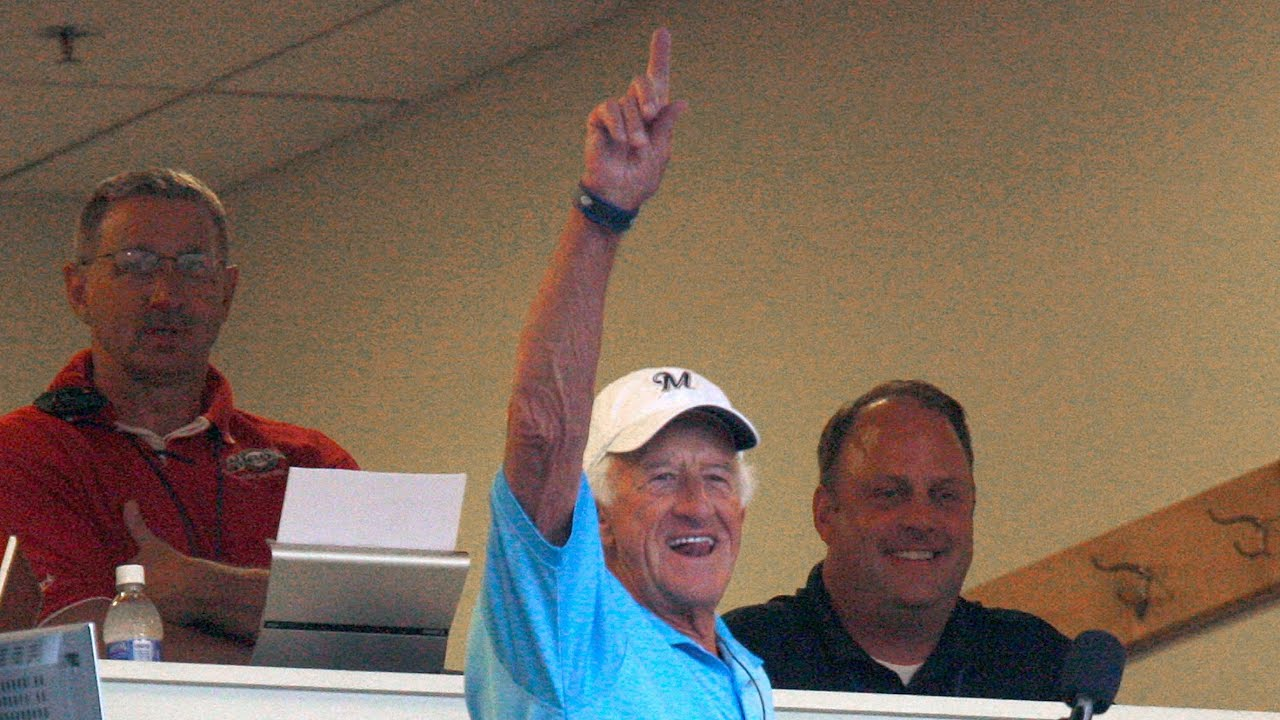 Bob Uecker talks about broadcasting remotely.