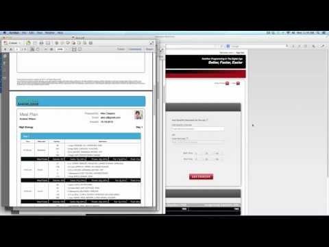 Evolution Nutrition Menu Planning Software - Professional Edition Overview Webinar