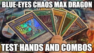 Gambar cover HOW TO PLAY A BLUE-EYES CHAOS MAX DRAGON DECK! TEST HANDS AND COMBOS! (MAY 2020) YUGIOH!