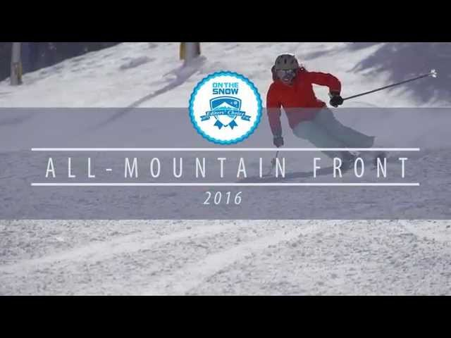 OnTheSnow Editors' Choice Skis: 2015/2016 Women's All-Mountain Front