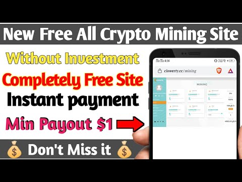 Clowerty New Free All Crypto Mining Website Without Investment in Telugu || Clowerty.cc ||