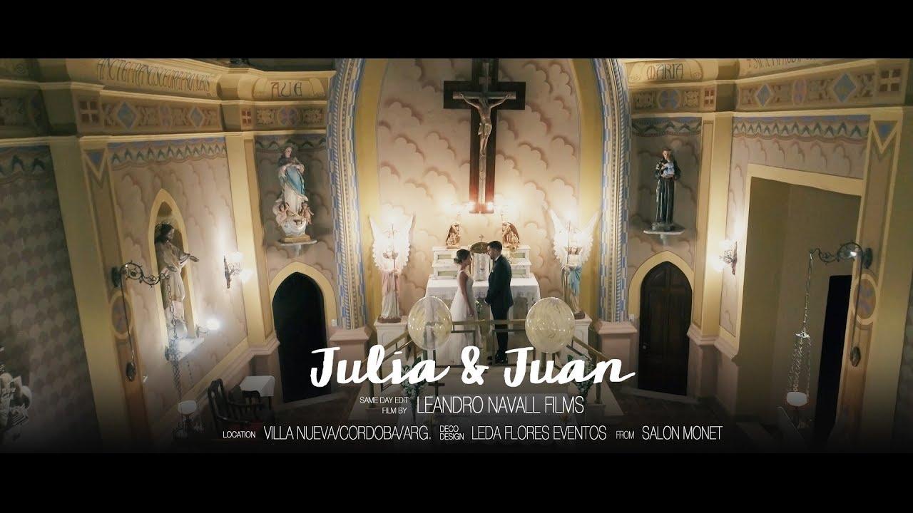 Julia & Juan :: Leandro Navall :: Videografo de Bodas en Villa Maria - Córdoba, Argentina.