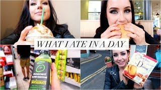 WHAT I ATE WHEN I WAS 60 POUNDS OVERWEIGHT // mcdonald's, pizza, starbucks & more (mukbang)