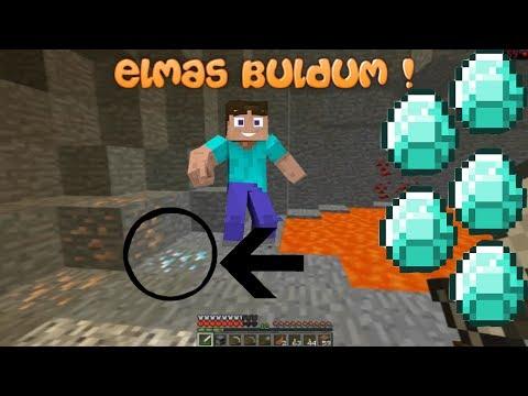 ELMAS BULDUM   Minecraft Survival   Bölüm 2