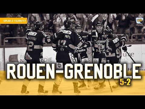 Hockey : Rouen - Grenoble Ligue Magnus 2017/2018 Jour 2