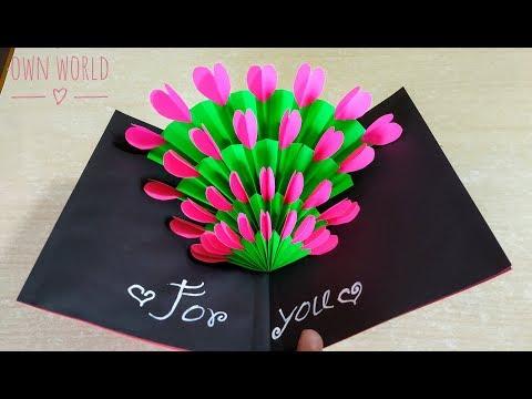 easy-!-beautiful-handmade-birthday-card-idea-|-diy-mother's-day-card!