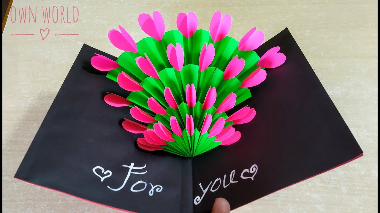 Easy Beautiful Handmade Birthday Card Idea Diy Mother S Day Card