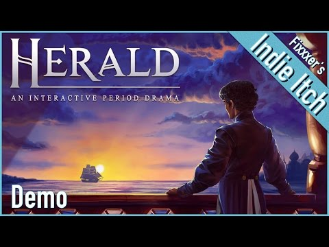 Indie Itch: Herald: An Interactive Period Drama (Herald gameplay demo from Wispfire)