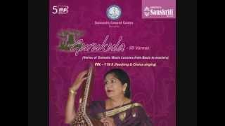 Gurukula - 50 Varnas by Prof. Mysore Nagamani Srinath
