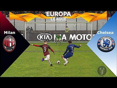 Milan Vs Chelsea • UEFA Europa League • Calci di Rigore • PES 2019 Patch [Giù]