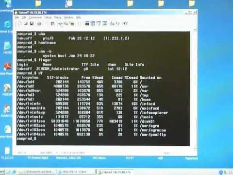 IBM AIX 4 shell commands - YouTube