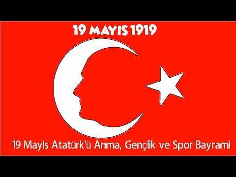 19 Mayis Ataturk U Anma Genclik Ve Spor Bayrami Boyama Sayfasi