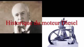 L'historique du moteur diesel
