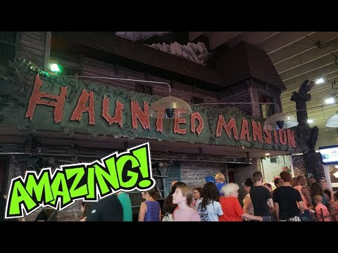 Impressive Dark Ride - Haunted Mansion - Funland Park - Rehoboth Beach