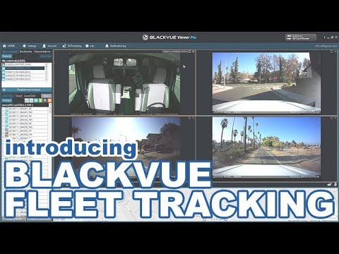Introducing BlackVue Fleet Tracking