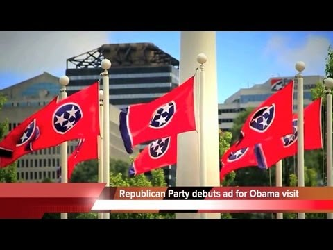 Republican TV ad welcomes Obama to Tennessee