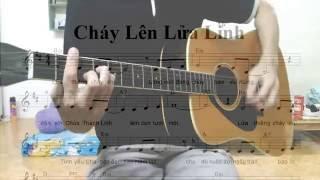 Cháy Lên Lửa Linh | Guitar Solo
