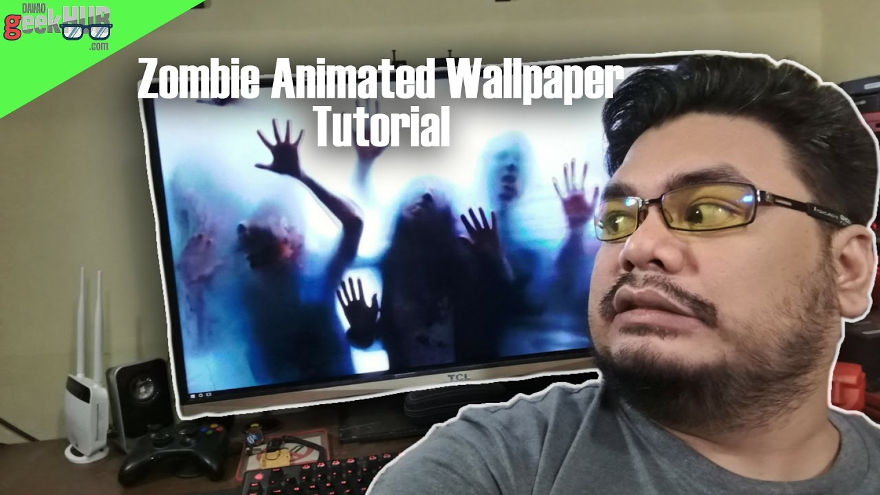 How To Install This Zombie Animated Wallpaper
