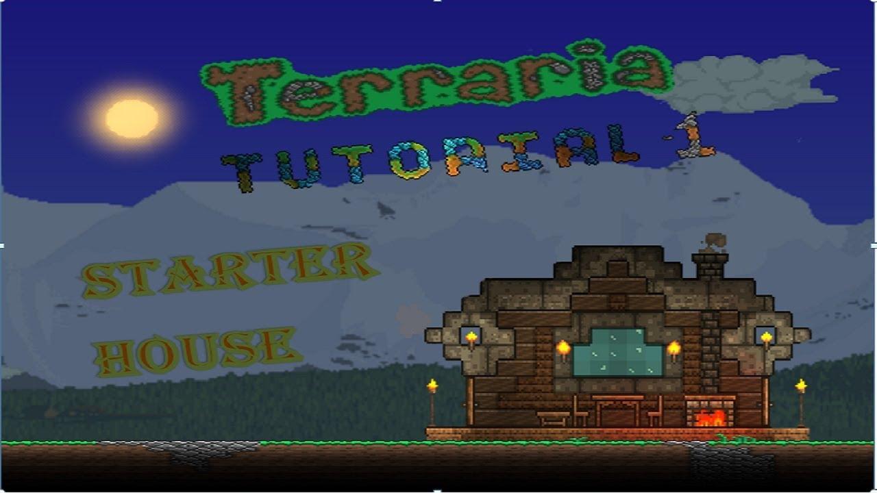 Terraria: Building Tutorial#1 Easy starter house on