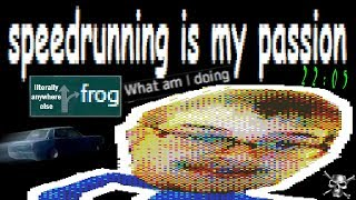Trying to speedrun 3D Frog Frenzy