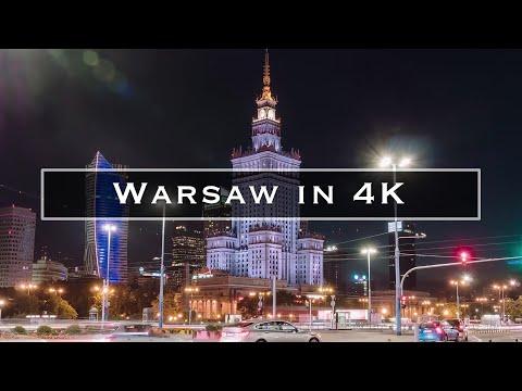 Warsaw in 4K