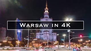 Warsaw in 4K thumbnail
