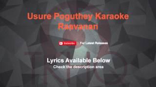 Usure Poguthey Karaoke Raavanan Karaoke