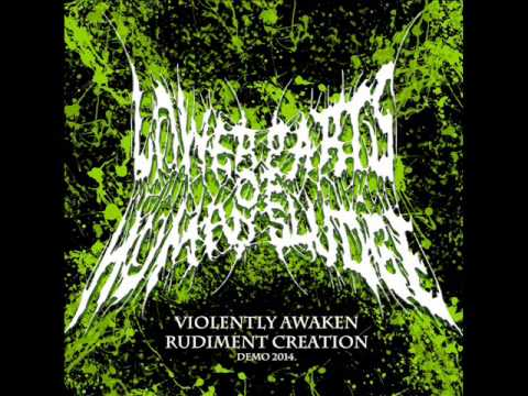 Lower Parts Of Human Sludge - Violently Awaken Rudiment Creation (Promo) (2014) (FULL)