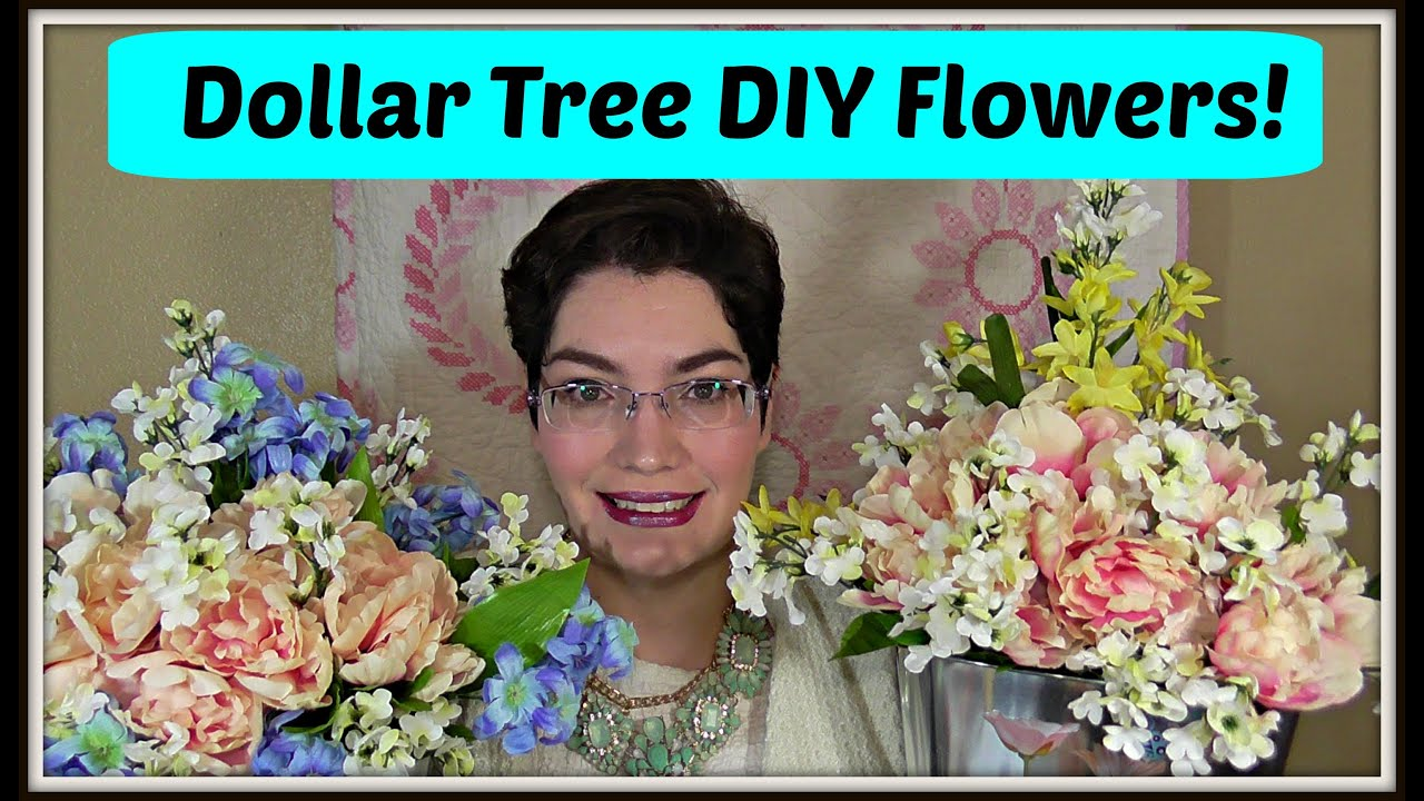 Dollar Tree Decor How To Make A Spring Floral Arrangement