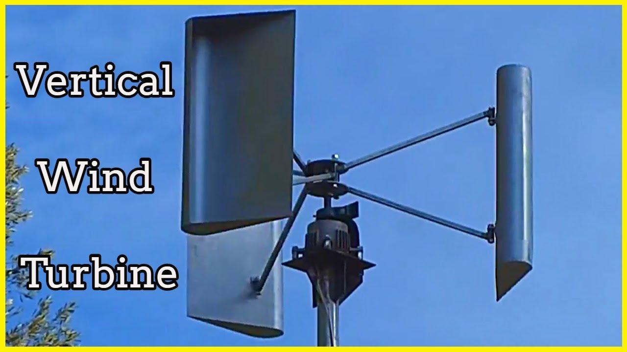 Vertical Wind Turbine Youtube