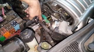 Renault Laguna 2 3.0 V6 24V - Wymiana termostatu