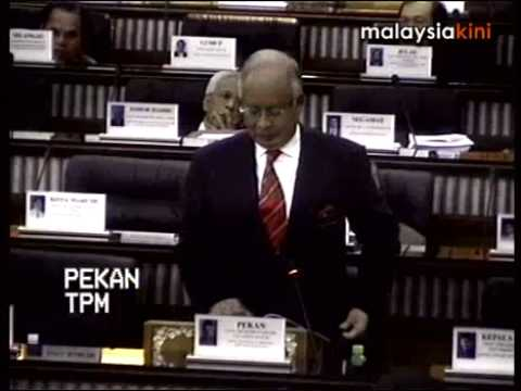 Najib interrupted by Pakatan MPs