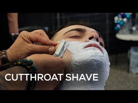 Barbershop Cutthroat Shave | New York Barbers