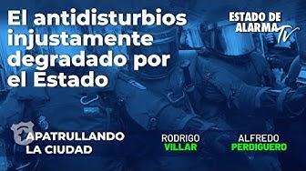 Imagen del video: El antidistubios injustamente degradado por el Estado; Alfredo Perdiguero y Rodrigo Villar