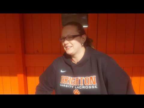 Brighton Girls Lacrosse Coach Katie Kozlowski