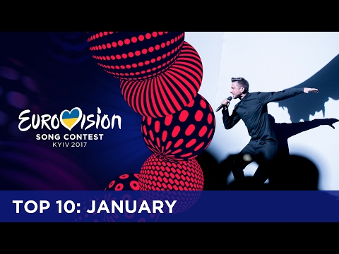 TOP 10: Most watched in January - Eurovision Song Contest