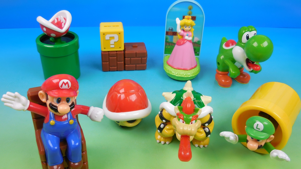 Mario Toys Mcdonalds | www.imgkid.com - The Image Kid Has It!