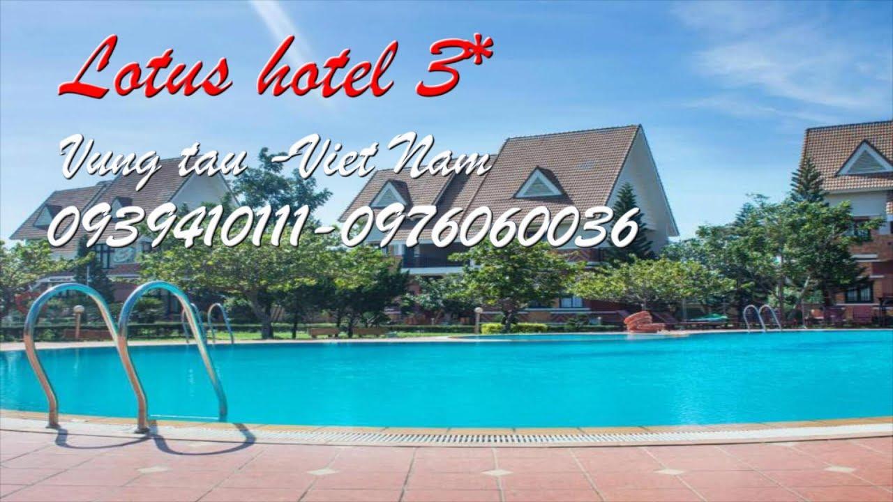 lotus hotel 3 sao vung tau, khách sạn lotus 3 sao vung tau