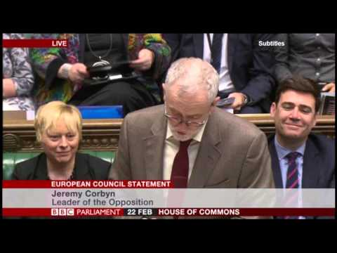 jeremy corbyn who are you