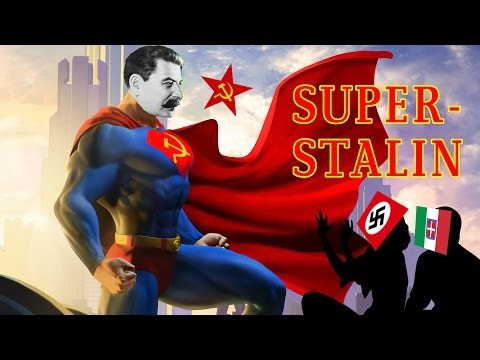 Super-Stalin Saves Mankind! (Once Again)