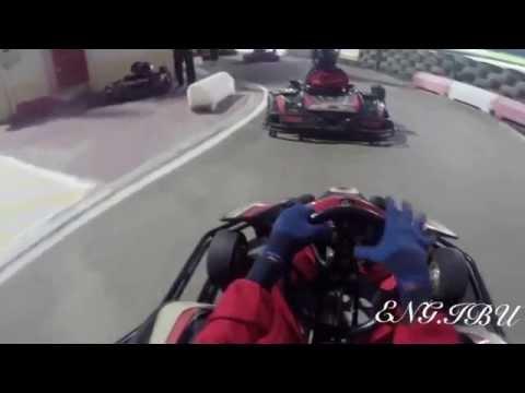 GOPRO: Carting in Al-Forsan Sport in Abu-Dhabi UAE