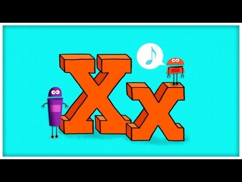 """ABC Song: The Letter X, """"Extraordinary X"""" by StoryBots"""