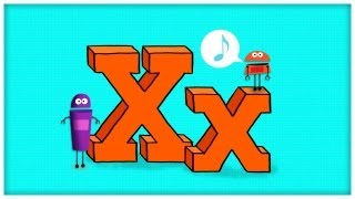 """ABC Song: The Letter X, """"Extraordinary X"""" by StoryBots 