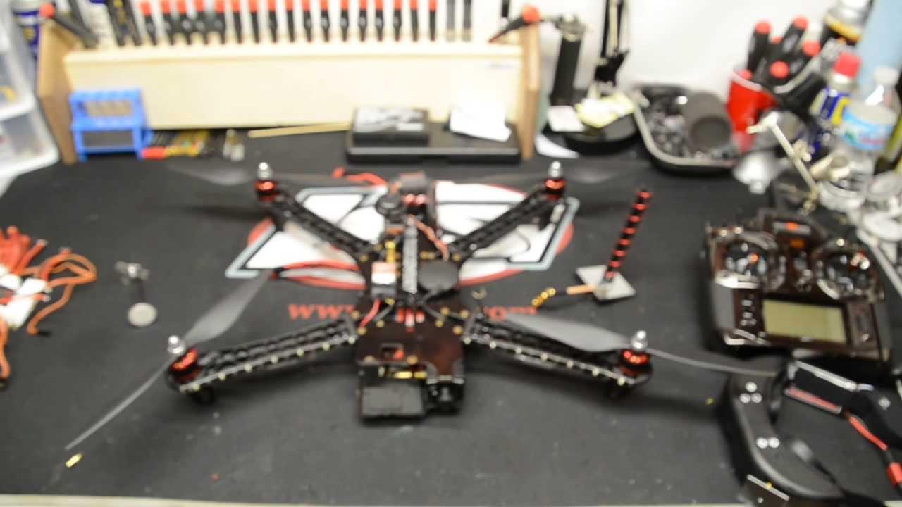 FPV Team Blacksheep Discovery Quadcopter DJI Naza Review and Setup ...