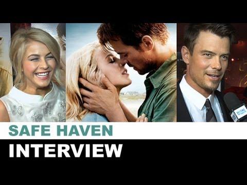 Safe Haven Interview 2013 - Julianne Hough, Josh Duhamel, Gavin DeGraw : Beyond The Trailer