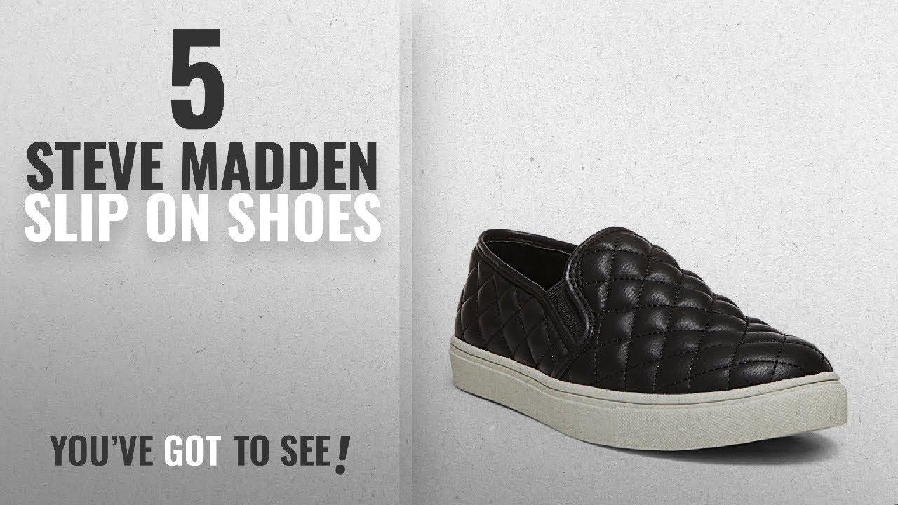 5704e239759 Top 5 Steve Madden Slip On Shoes  2018   Steve Madden Women s Ecentrcq  Slip-On Fashion