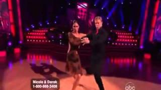 Nicole Scherzinger и Derek Hough - аргентинское танго под Gotan Project
