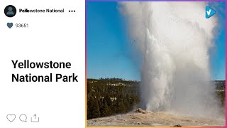 #Yellowstone National Park News: Happy #EarthDay! To celebrate Earth Day, we invite you to watch